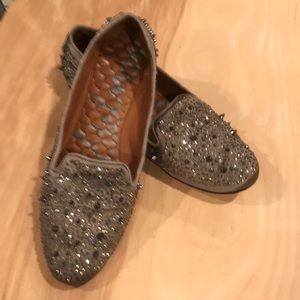 Sam Edelman spiked loafers